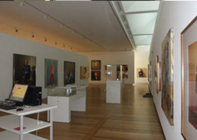 The National Portrait Gallery in Canberra